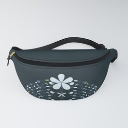Night Garden Pattern Fanny Pack