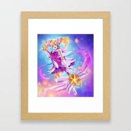Shio Star guardian Lux Framed Art Print