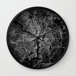washington map Wall Clock