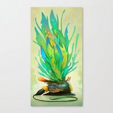 Feathered Tethridon Canvas Print