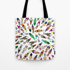 Superheroine Butts - Group Tote Bag