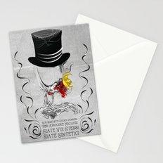 non scrivete grandi pensieri Stationery Cards