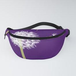 Dandelion on Purple Fanny Pack