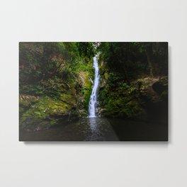 Ohau waterfall Metal Print