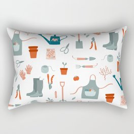 Gardening Things Rectangular Pillow