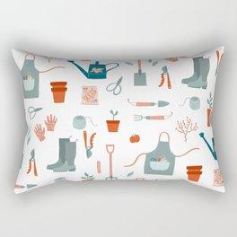 Gardening Things Rectangular Pillow