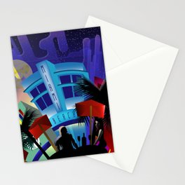 Miami Beach Stationery Cards