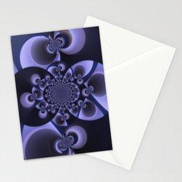 Dark Scan Stationery Cards