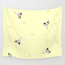 Feed him with love Wall Tapestry