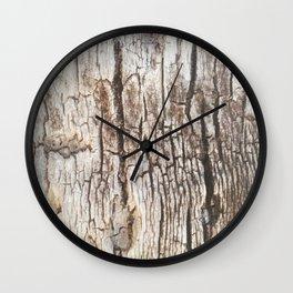 Beyond Cracks Wall Clock