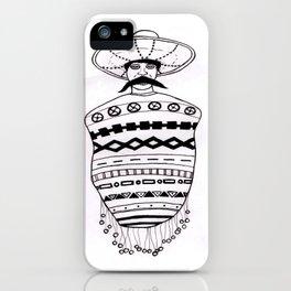 Poncho Mex iPhone Case
