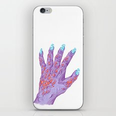 Cloud Nails iPhone & iPod Skin