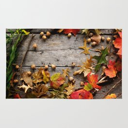 Autumn Artifacts  Rug