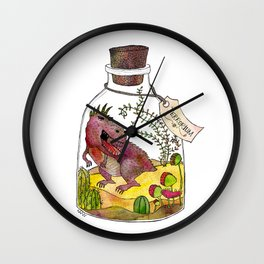 Terrorium Wall Clock
