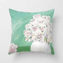 From the Garden Throw Pillow