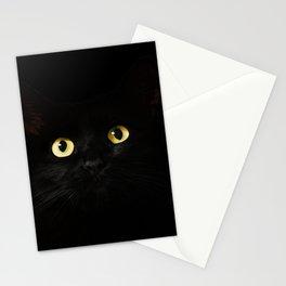 Black Cat Eyes Stationery Cards