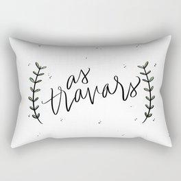 as travars Rectangular Pillow