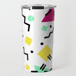 80s Confetti Travel Mug