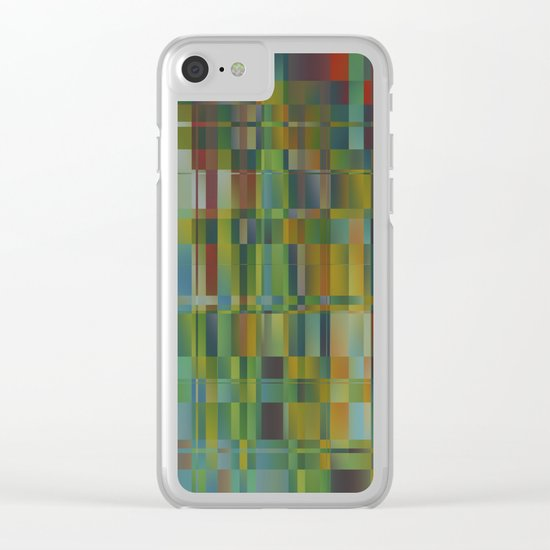 Abstract 219 Clear iPhone Case