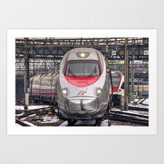 Italian Express Art Print