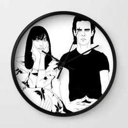 Nick and Susie Cave Wall Clock