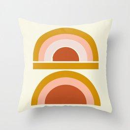 Last Rainbow Throw Pillow