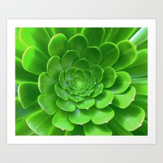 Green Within Art Print