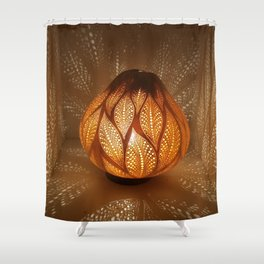 HAPPY LEAFS Shower Curtain