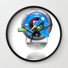 Super-Mac Wall Clock