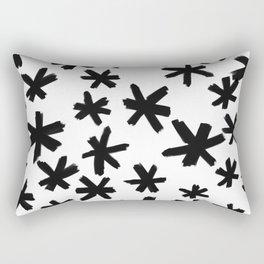 Secret Buttholes - WHITE Rectangular Pillow