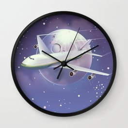 book a flight today Wall Clock