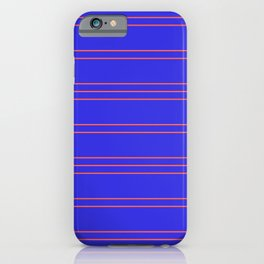 Simple Lines Pattern pr iPhone Case