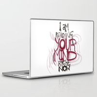 patriarchy Laptop & iPad Skins featuring ...and the things I see are really ugly by instantgaram