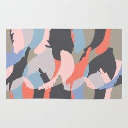 Modern abstract print Rug