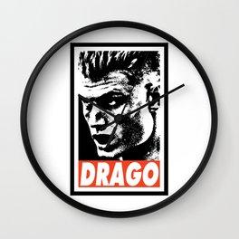 DRAGO Wall Clock