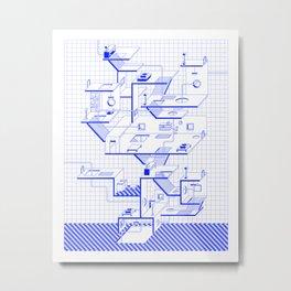 Selective Ecologies Metal Print