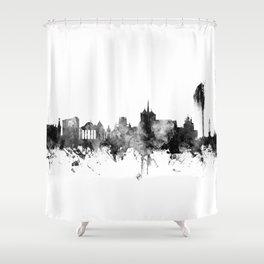 Geneva Switzerland Skyline Shower Curtain