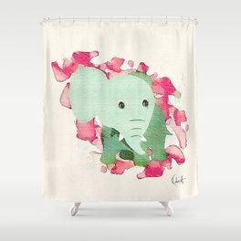 Ele Shower Curtain
