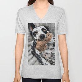 Dog Chewing Toy Unisex V-Neck