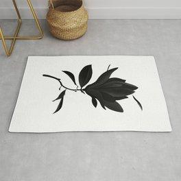 Black Magnolia Rug