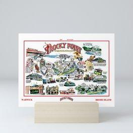 Rocky Point Amusement Park, Warwick, Rhode Island History Art Mini Art Print
