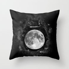 My Neighbor in the Sky Throw Pillow