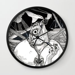 The Cryptids - Mermaid Wall Clock