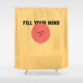 Mind Shower Curtain