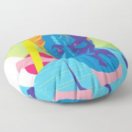 SONNY :: Memphis Design :: Miami Vice Series Floor Pillow
