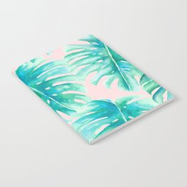 Paradise Palms Blush Notebook