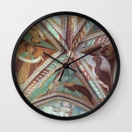 Ceiling Fresco Wall Clock