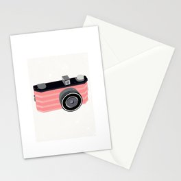 Camera Print Stationery Cards
