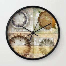 Coated Beauty Flower  ID:16165-092128-56061 Wall Clock