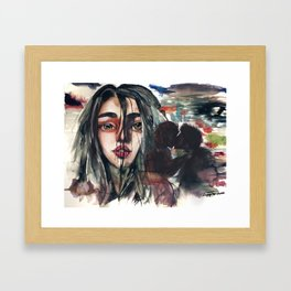 what used to be Framed Art Print